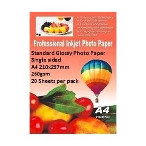 E-Box ESGS-260GSM-20 Standard Glossy Photo Paper