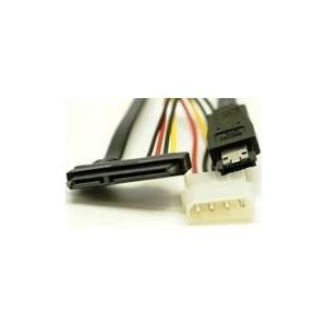 UniQue SATATOESATACABL 4pin Power Plug to SATA 15pin Power Socket Cable