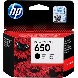 HP # 650 BLACK INK CARTRIDGE