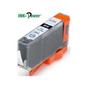 Inkpower IPC521BK Generic for Canon Ink C521BK - Black Inkjet Cartridge