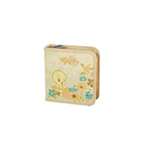 Tweety W50001-C-CREAM 40 CD Wallet Colour : Cream