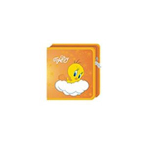 Tweety W50001-C-ORANGE 40 CD Wallet Colour : Orange