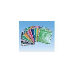 EBox PPD-2P Plastic Cd Sleeves - 100 Pack