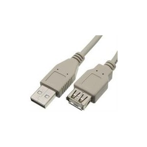 UniQue CU202-1.8 USB Printer Extension Cable Type A Male to A Female- 1.8M