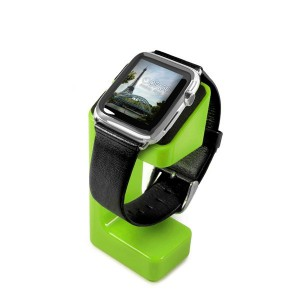Tuff-Luv  H12_47  Moulded Charging Stand for Apple Watch - Green