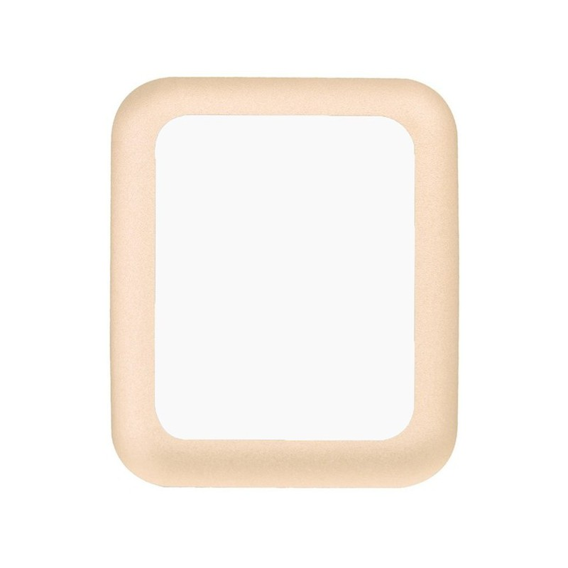 Tuff-Luv  D3_55  Curved Tempered Tuff-Glass Zero Air Bubble for Apple Watch 38mm - Gold (Series 1 / 2)