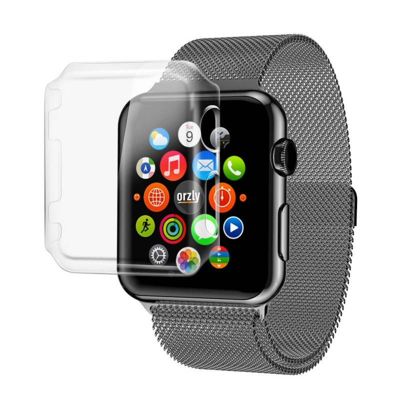 Tuff-Luv  3WATCRYSTAL38  Orzly InvisiCase for Apple Watch Series 1 - Invisible Case / Cover