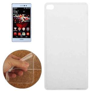 Tuff-Luv  H8_78  TPU Gel Case for Huawei P8 - Clear