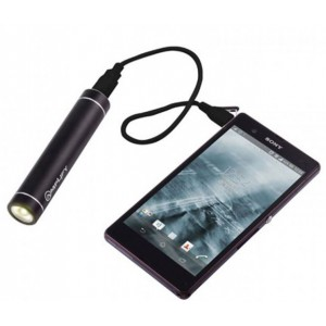 Amplify  AM4002/2200/BK  Executive 2200mAh Power Bank with LED Torch - Black