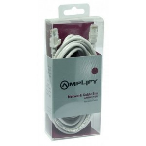 Amplify  AMP6017/GR  RJ-45 Network Cable - 5m ,Grey