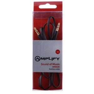 Amplify AM6005/BK Sound of Music Aux Cable - 1m