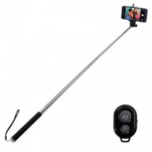 Amplify  AM7001/BK  Bluetooth Selfie Stick - Black