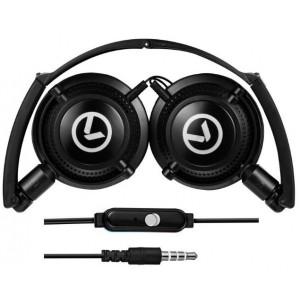 Amplify AM2005/BK  Symphony Headphones with Mic -Black