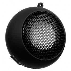 Amplify AM3001/BK  Mini Speaker 2W Boom Town,Black