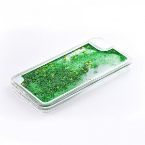 Tellur Hard Case Cover Glitter for iPhone 7/8, Green