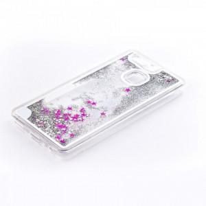 Tellur Hard Case Cover Glitter for Huawei P9, White