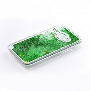 Tellur Hard Case Cover Glitter for Samsung J1 2016, Green