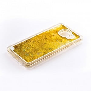 Tellur Hard Case Cover Glitter for Samsung A5 2016, Yellow