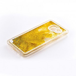 Tellur Hard Case Cover Glitter for Samsung A3 2016, Yellow