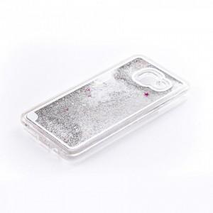 Tellur Hard Case Cover Glitter for Samsung A3 2016, White