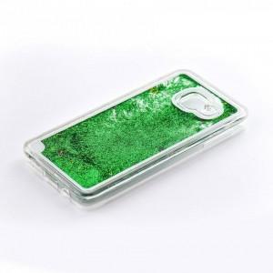Tellur Hard Case Cover Glitter for Samsung A3 2016, Green