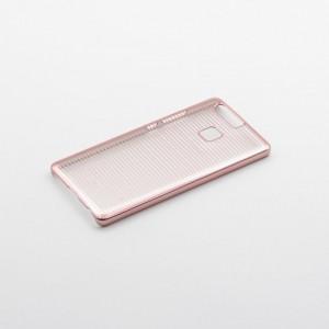 Tellur Hard Case Cover Horizontal Stripes for Huawei P9, Rose