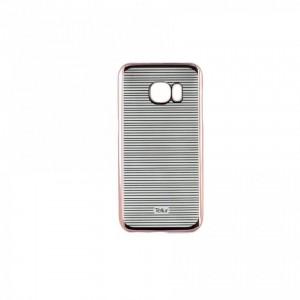 Tellur Hard Case Cover Horizontal Stripes for Samsung S7, Rose