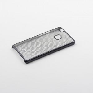Tellur Hard Case Cover Vertical Stripes for Huawei P9 Lite, Black