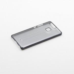 Tellur Hard Case Cover Vertical Stripes for Huawei P9, Black