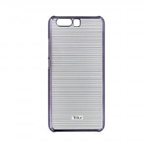 Tellur Hard Case Cover for Huawei P10, Horizontal Stripes Black