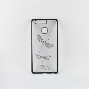 Tellur Hard Case Cover Dragon Fly for Huawei P9, Black