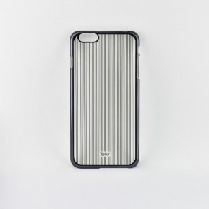 Tellur Hard Case Cover Vertical Stripes for iPhone 6/6s, Black