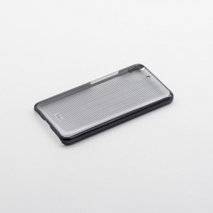 Tellur Hard Case Cover Vertical Stripes for Huawei Y6, Black