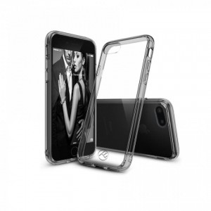 Tellur Hybrid case iPhone for 8 Plus- Grey