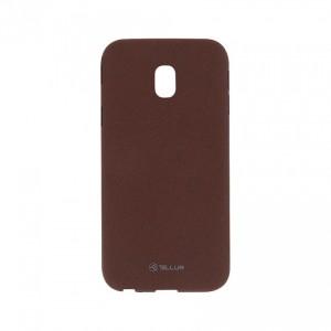 Tellur Sand silicon case for Samsung J3 2017- Burgundy
