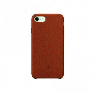 Tellur Sand silicon case for iPhone 8- Brown