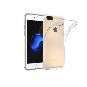 Tellur Shinny silicon case for iPhone 8 Plus- Clear