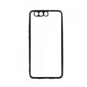 Tellur Silicone Cover for Huawei P10 Plus, Black Edges
