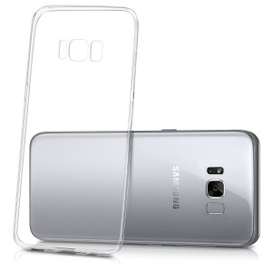Tellur Silicone Cover for Samsung S8, Clear