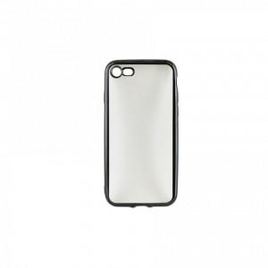 Tellur Silicone Cover  for iPhone 7/8 Plus, Black Edges