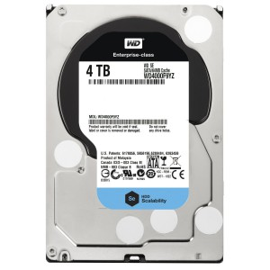 "Western Digital 4TB 3.5"" WD SATA III 7200 RPM 64MB Cache"