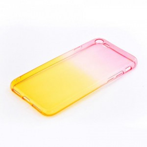 Tellur Silicone Cover  for iPhone 7/8, Pink&Orange