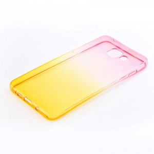 Tellur Silicone Cover  for Samsung A5 2016, Pink&Orange