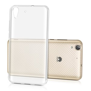 Tellur Silicone Cover  for Huawei Y6, Clear
