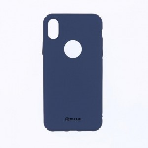 Tellur Super slim cover for iPhone X- Blue