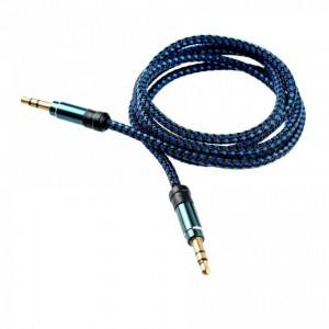 Tellur Audio Cable jack 3.5mm - Blue
