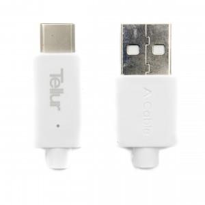Tellur USB Type C Data Cable 100 cm, White