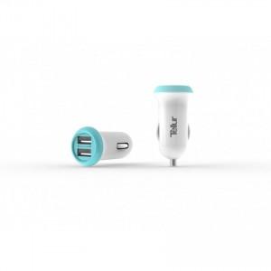 Tellur Car Charger dual USB - 2.4A- White