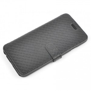 Book Case Tellur for Huawei P10 Plus Cross Leather Black