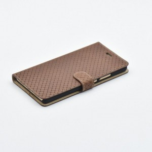 Tellur Book Case Genuine Leather Cross for Huawei P9 Lite, Brown
